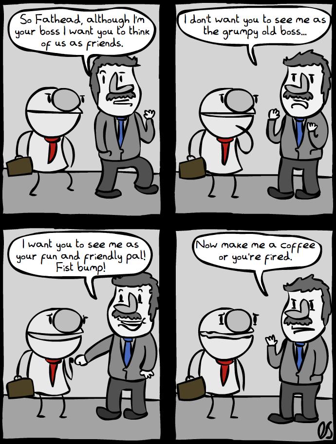 Fathead gets a Job [Part 1]